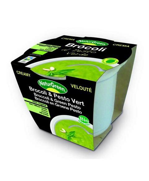 Crema Brócoli Al Pesto Naturgreen 310 Gr Bio