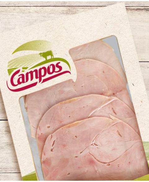 Jamón Cocido Loncheado de Campos Carnes Ecológicas 100 Gr Bio