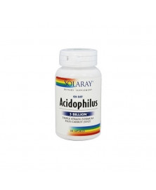 ACIDOPHILUS PLUS 30 CAPSULAS SOLARAY BIO