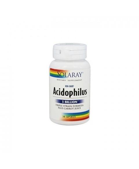 ÁcidoPhilus 30 Capsulas Solaray