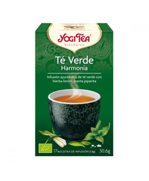 Té Verde Harmonía Interior de Yogi Tea 17 Uds Bio