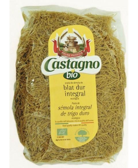 Fideos Trigo Integral de Castagno 500 Gr Bio
