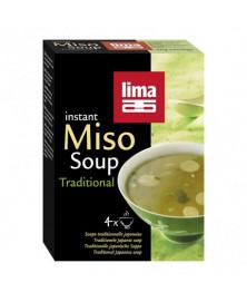 Sopa Miso Instantánea de Lima 4x10Gr