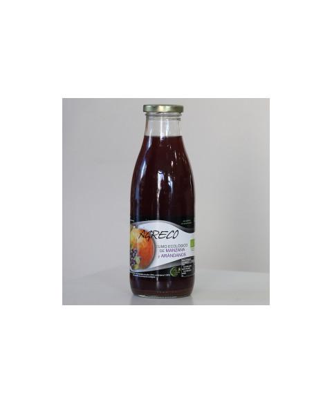 Zumo Manzana y Arándanos de Agreco 750 ml Bio