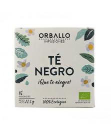 INFUSIÓN TÉ NEGRO ORBALLO 15 UDS BIO