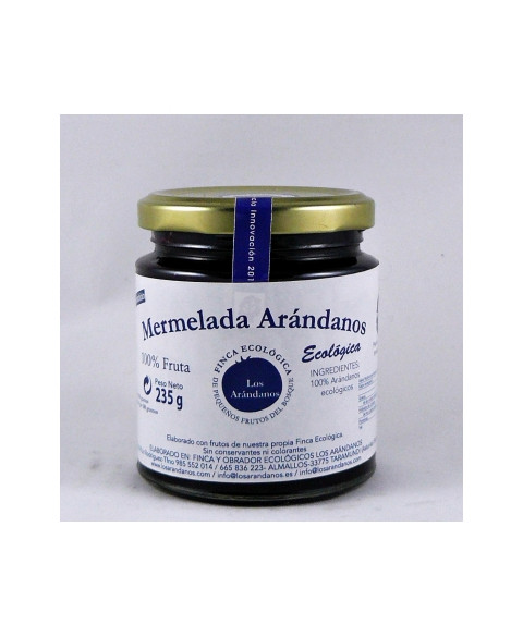 Mermelada Arandanos con Azúcar Los Arándanos 235 Gr Bio