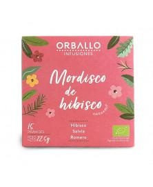 INFUSIONES MORDISCO DE HIBISCO ORBALLO 15 UD BIO