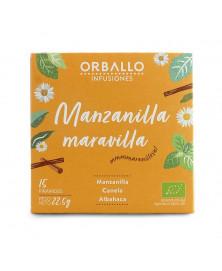 INFUSIONES MANZANILLA MARAVILLA ORBALLO 15 UD BIO