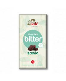 Chocolate Negro con Stevia 100 Gr
