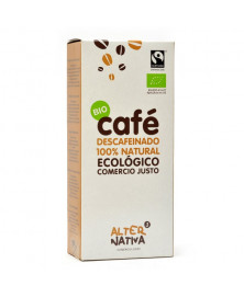 CAFÉ DESCAFEINADO ARABICA ALTERNATIVA 3 250 GR BIO