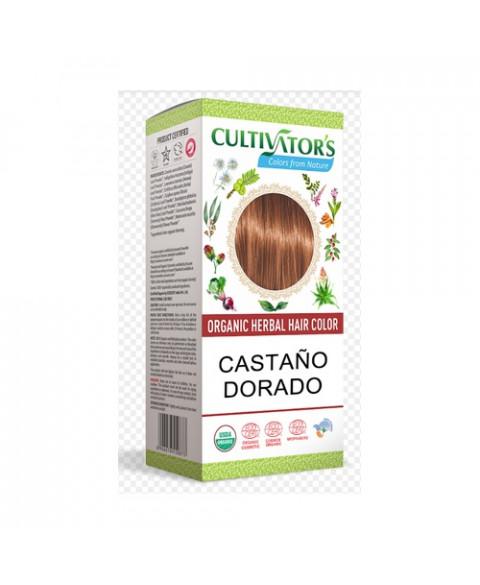 Tinte Vegetal Castaño Dorado Cultivator's 100 Gr