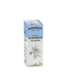 Bebida de Almendras Sin Azúcar Monsoy 1 L Bio