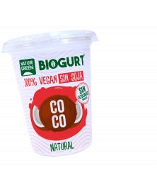 YOGUR DE COCO NATURAL NATURGREEN 400 GR BIO