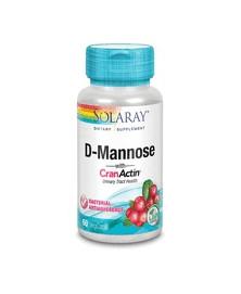D-MANNOSE 60 CAP SOLARAY