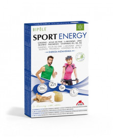 SPORT ENERGY DIETETICOS INTERSA 20 AMPOLLAS