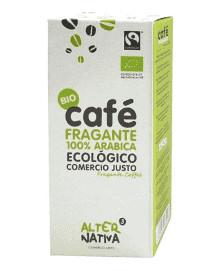 CAFÉ FRAGANTE MOLIDO 100% ARABICA ALTERNATIVA 3 250 GR BIO