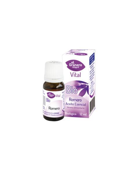 Aceite Esencial de Romero El Granero Integral 12ml BIO