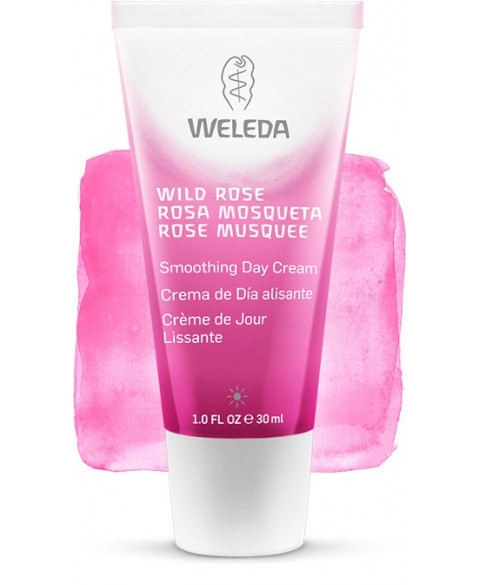 Crema de Día Alisante de Rosa Mosqueta Bio de Weleda 30 ml