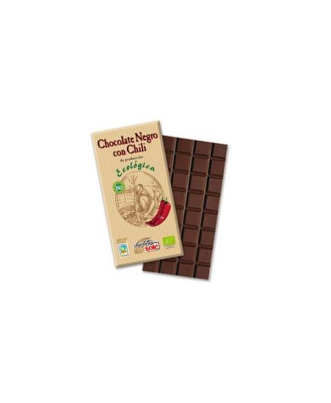 CHOCOLATE CON CHILI 100 GR BIO