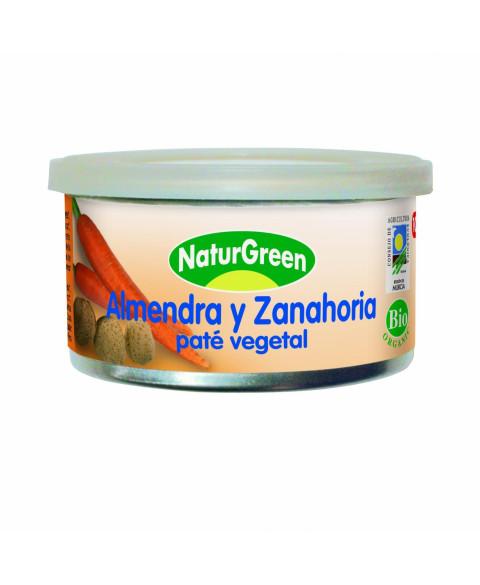 PATE ALMENDRA-ZAHAHORIA 125GR BIO