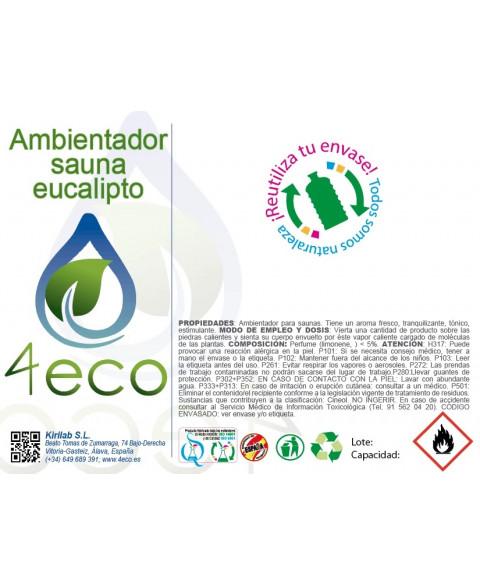 AMBIENTADOR EUCALIPTO 750 ML 4ECO