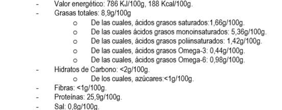 atun en aceite de oliva pan don mar