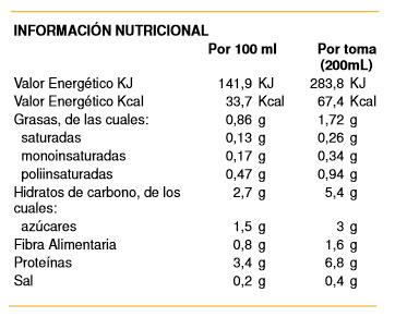 bebida de soja soria natural