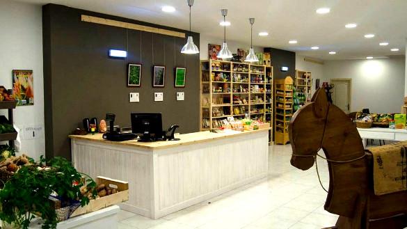 Biodieta, zona 1 de la tienda