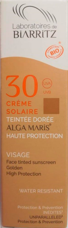crema solar facial color light spf 30 50 ml