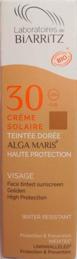 crema solar facial color light spf 30 50 ml