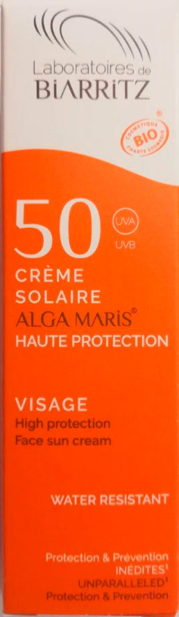 crema facial proteccion 50