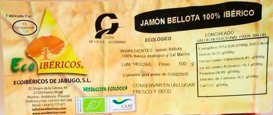 ecoibericos etiqueta