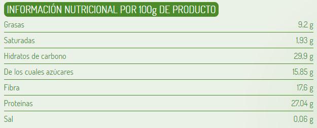 germen de trigo el granero integral etiqueta