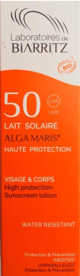 leche solar spf 50 100 ml
