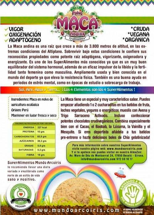 maca andina mundo arcoiris