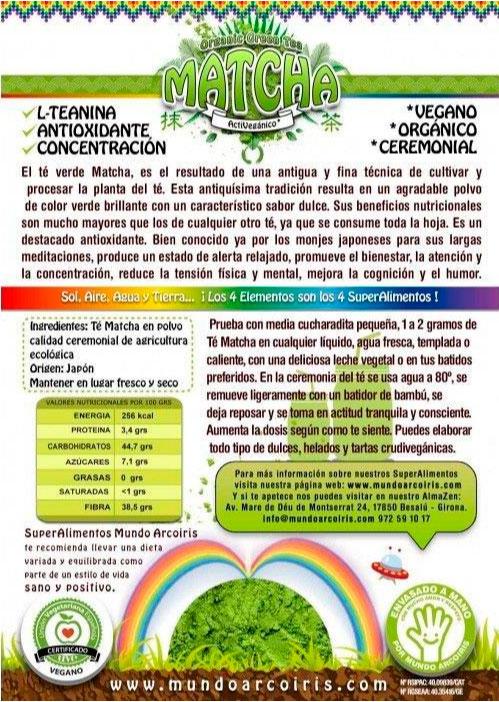 moringa etiqueta mundo arco iris
