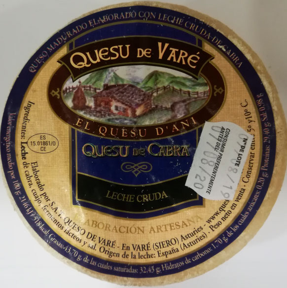 queso de cabra vare