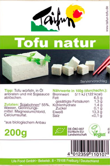 taifun tofu natural
