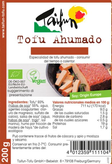 Tofu ahumado clasico