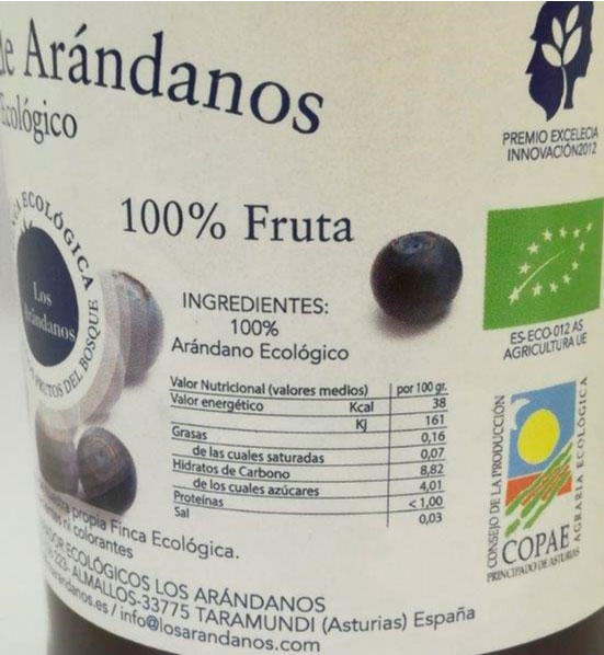 zumo de arandanos 1